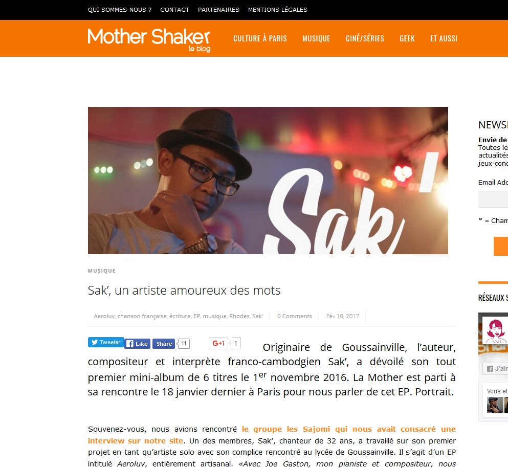 Article de Mothershaker
